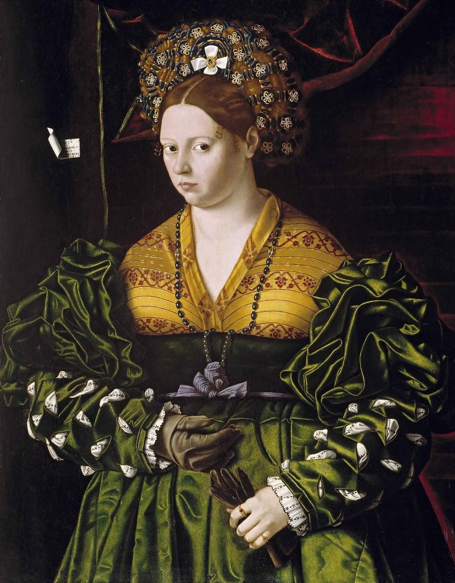 Italian renaissance fashion for women 95