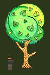 Иконка дерева Липа © Третьякова Ольга Ан.