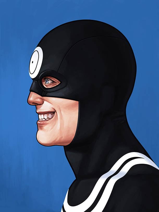 Marvel x Mitchell - 25 superbes portraits de super-heros