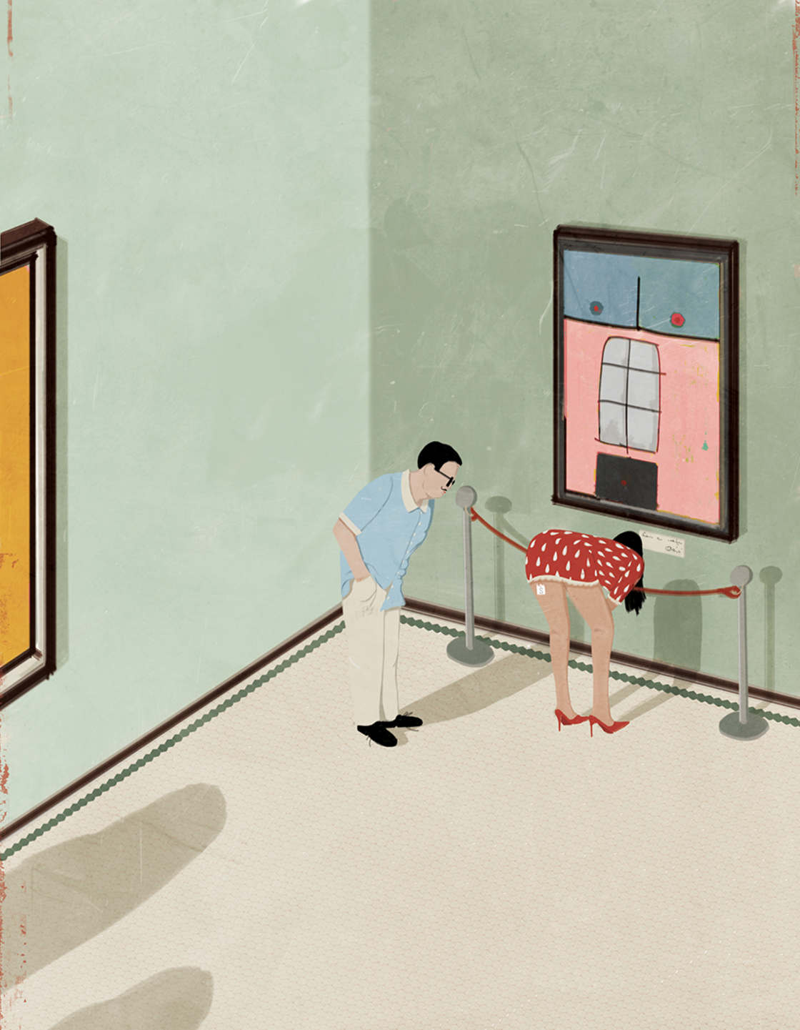 Les illustrations satiriques et surrealistes d'Andrea Ucini