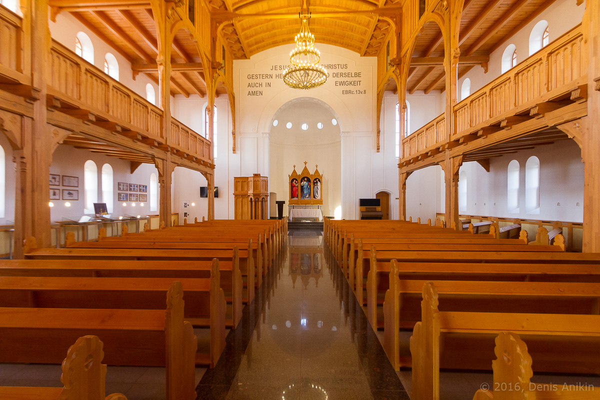 Лютеранская церковь Цюрих - Зоркино фото 14