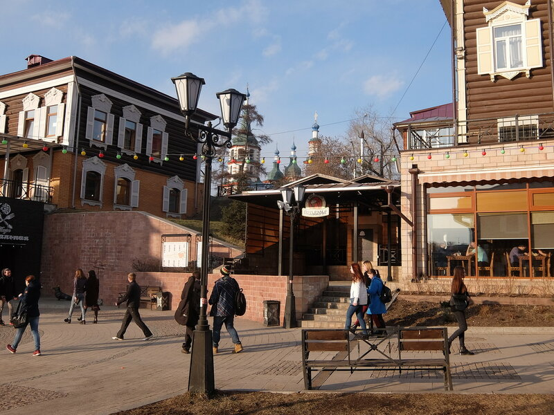 Иркутск - 130-й квартал - Вид на церковь