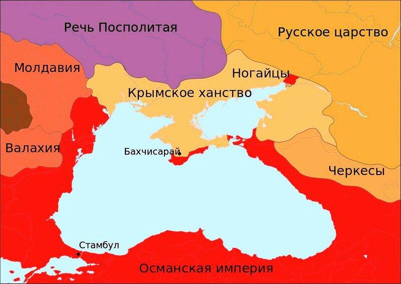 Политическая карта Причерноморья после поражения Крымского ханства.jpg