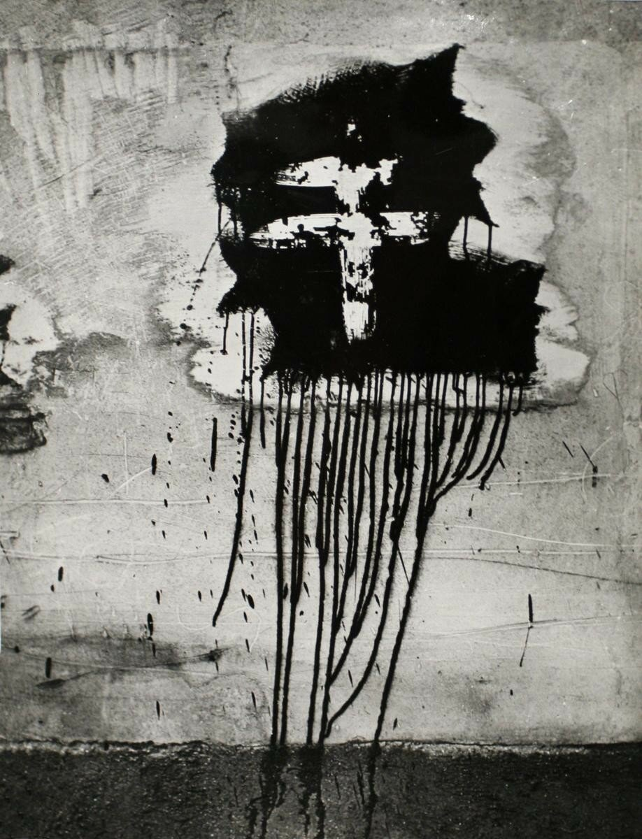 1945. Граффити. Лотарингский крест