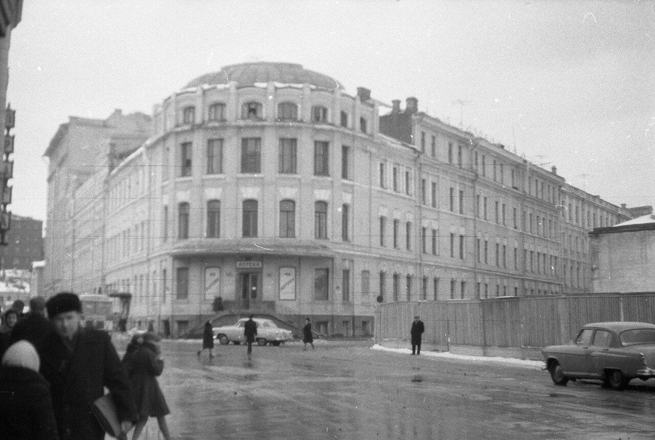 1961. Угол Поварской и Мерзляковского