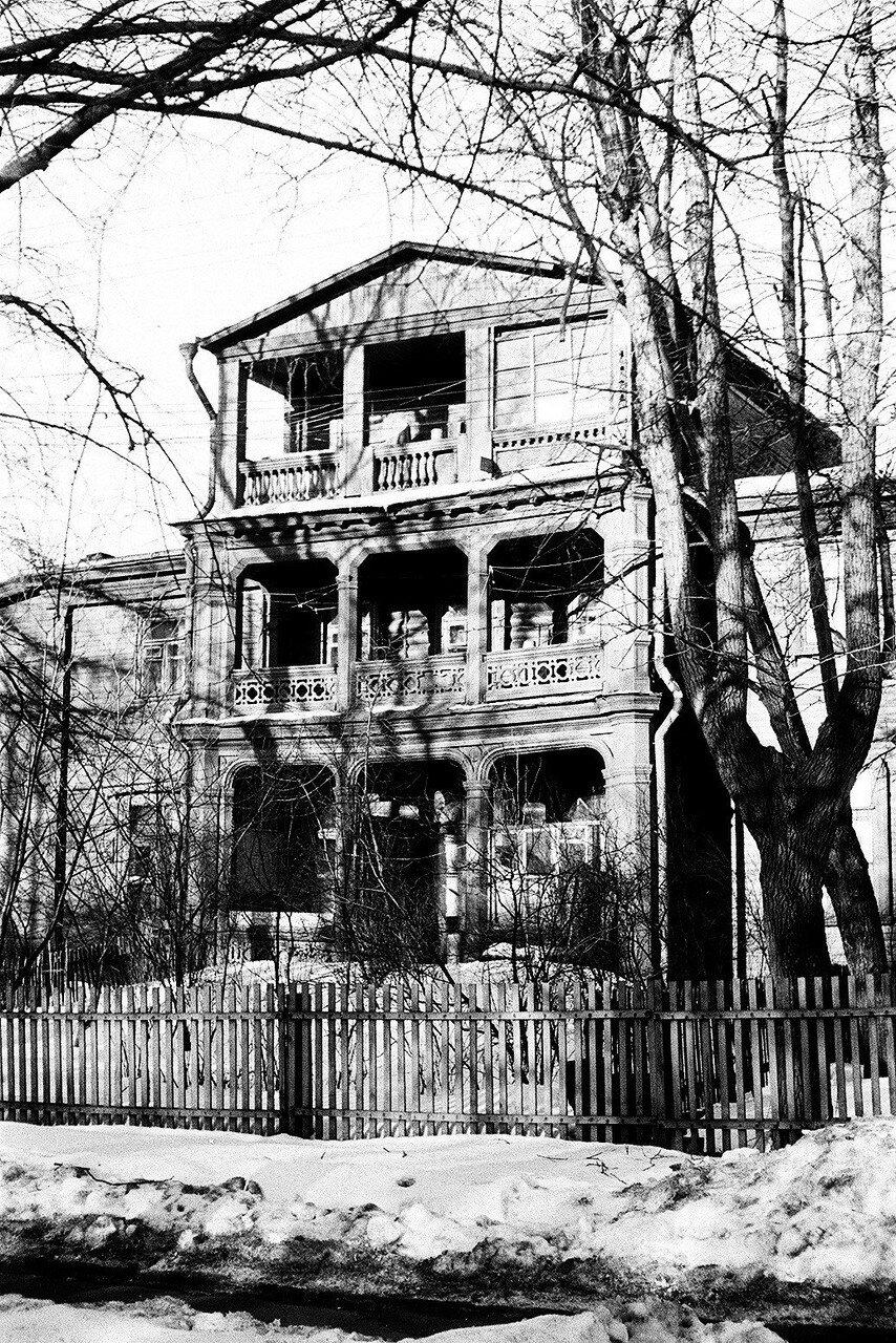 1974. Дом № 5 по 6-му Лучевому просеку