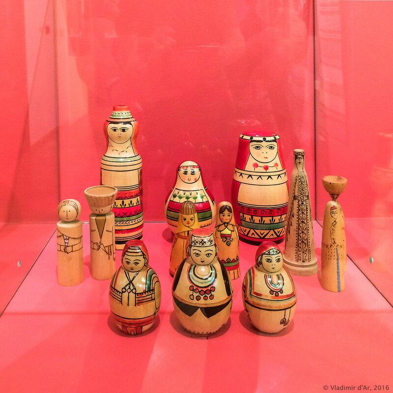 Выставка Матрешка - Непростая игрушка