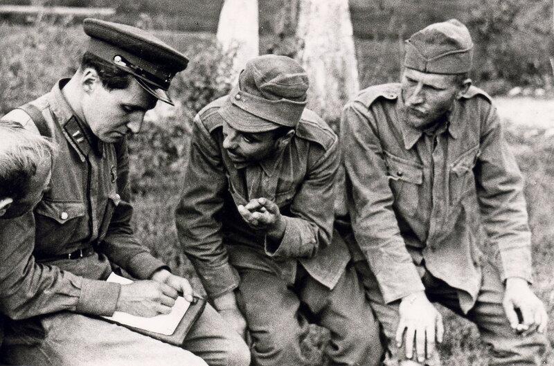 «Красная звезда», 3 сентября 1941 года, Константин Симонов, пленные румынские солдаты под Одессой