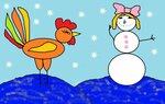 Абулгатина Лилиана (рук. Ларина Мария Евгеньевна) - Новогодний петушок