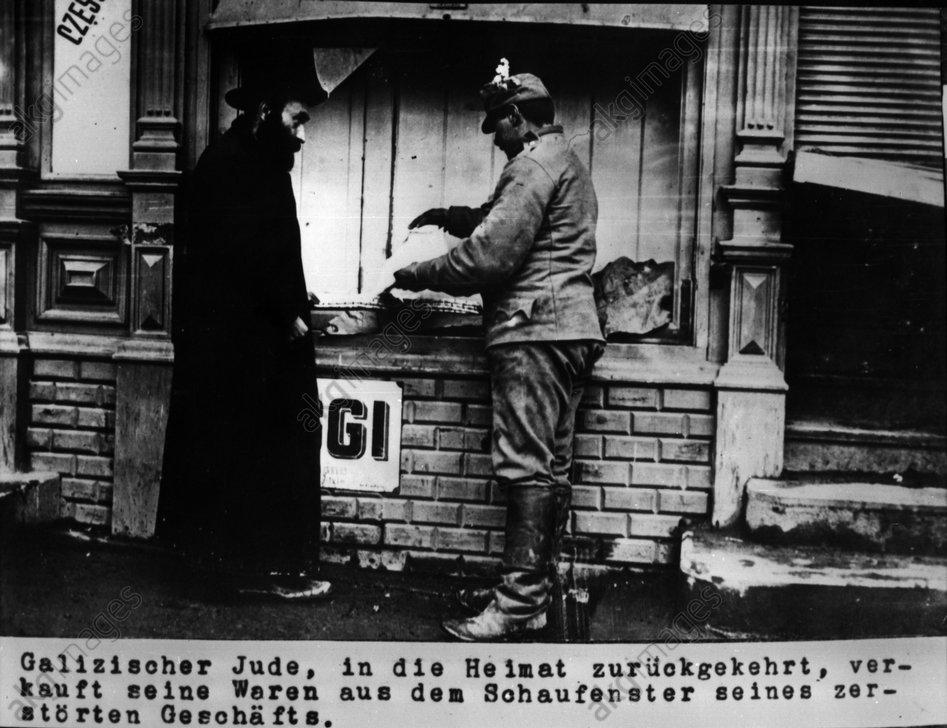 Galizischer Jude verkauft... / 1915 - Galician Jew sells... / 1915 -