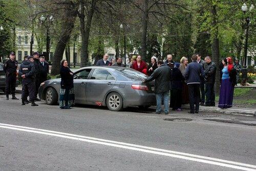 Вопиющий случай на одной из парковок Кишинёва