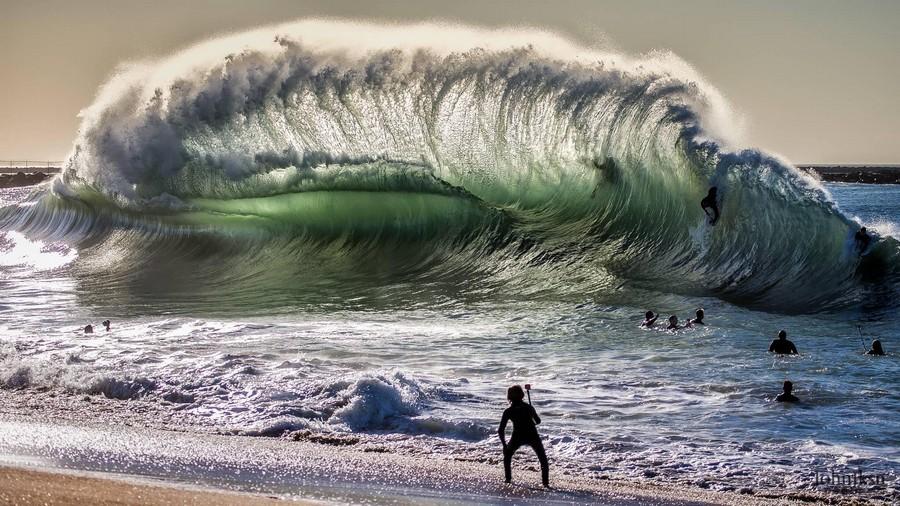 это прикольные картинки тихого океана коттеджа гаражом