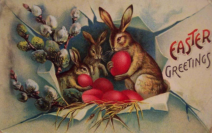 Христово Воскресение Открытки винтажные