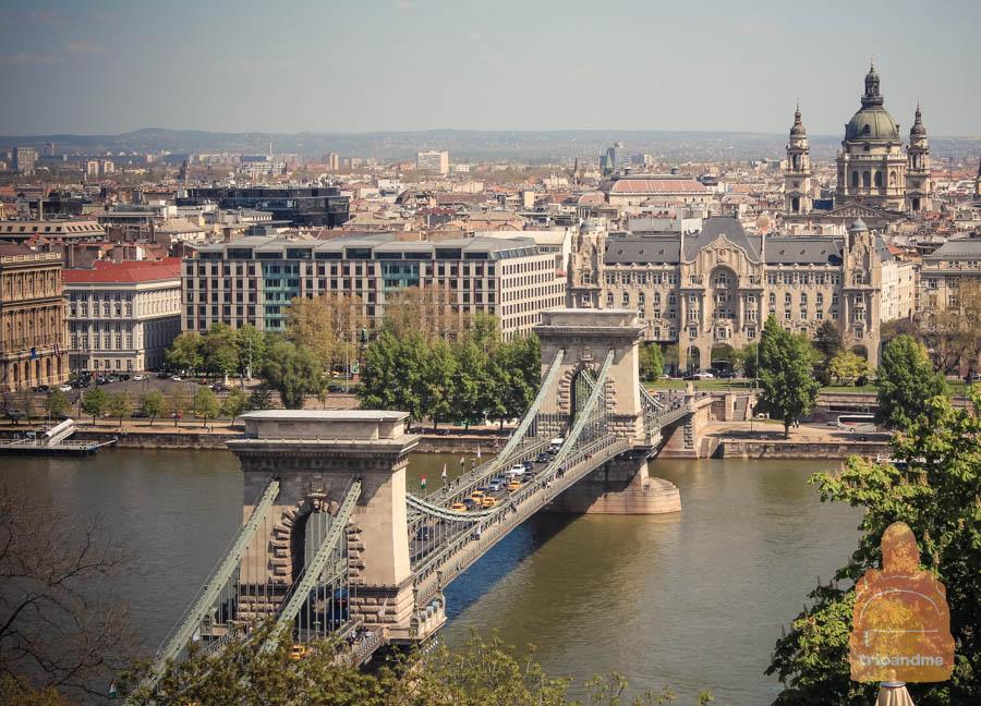 Самый старый мост венгерской столицы