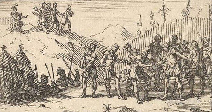 2. Децимация Мятежи войск всегда были потенциальной проблемой для римских генералов, поэтому существ