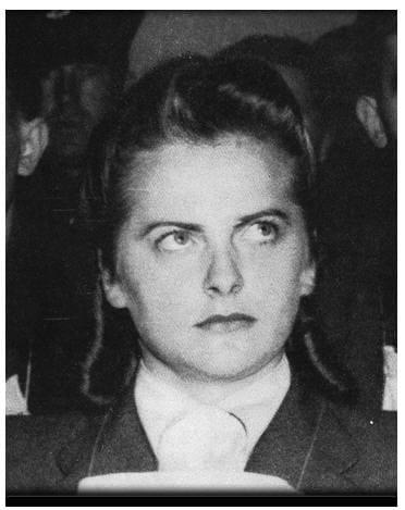 """Во время службы в концлагере Равенсброк Ирма Грезе получила прозвище """"Прекрасное чудовище"""". У эт"""