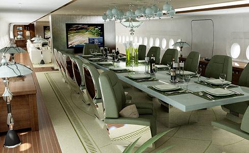 2. Airbus A380, 500 млн долларов. Еще один самолет саудовского принца аль-Валид ибн Талала — самый д