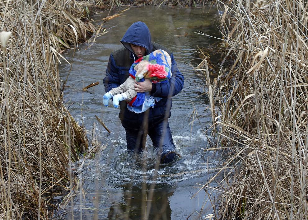 15. Часто в конце пути вместо лучшей жизни мигрантов ждет вот это. Как сказали в сицилийском по