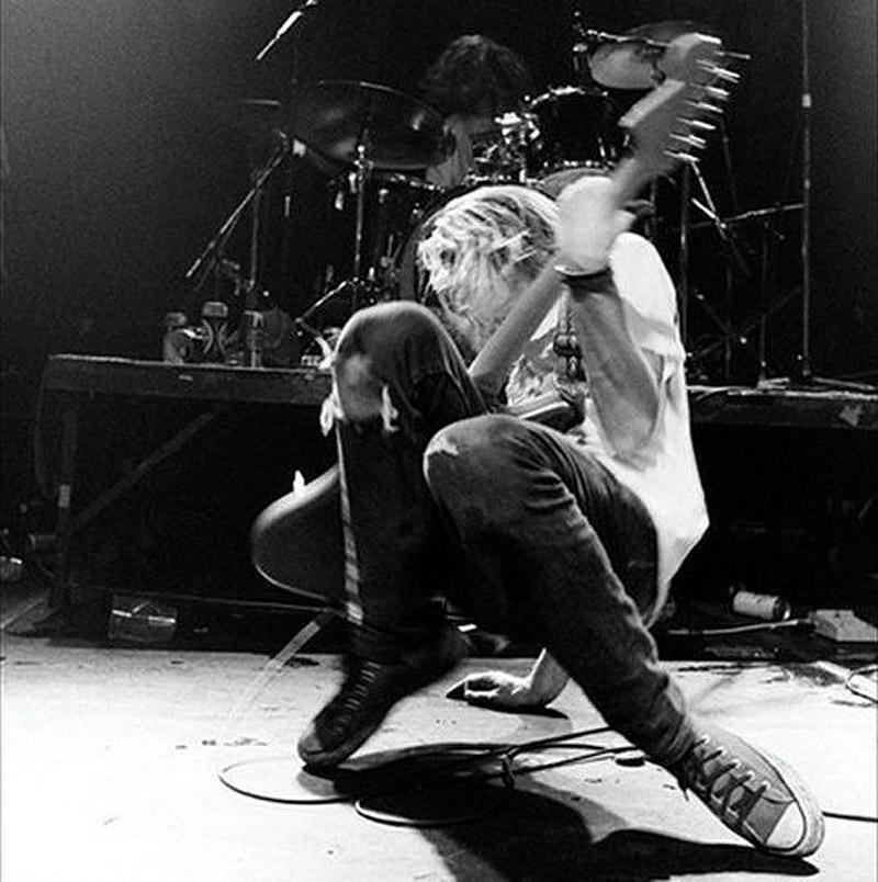 Марк Арм в лондонском клубе «Астория», 3 декабря 1989 года.