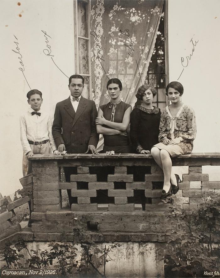 4. Семья Фриды, 1926 год.