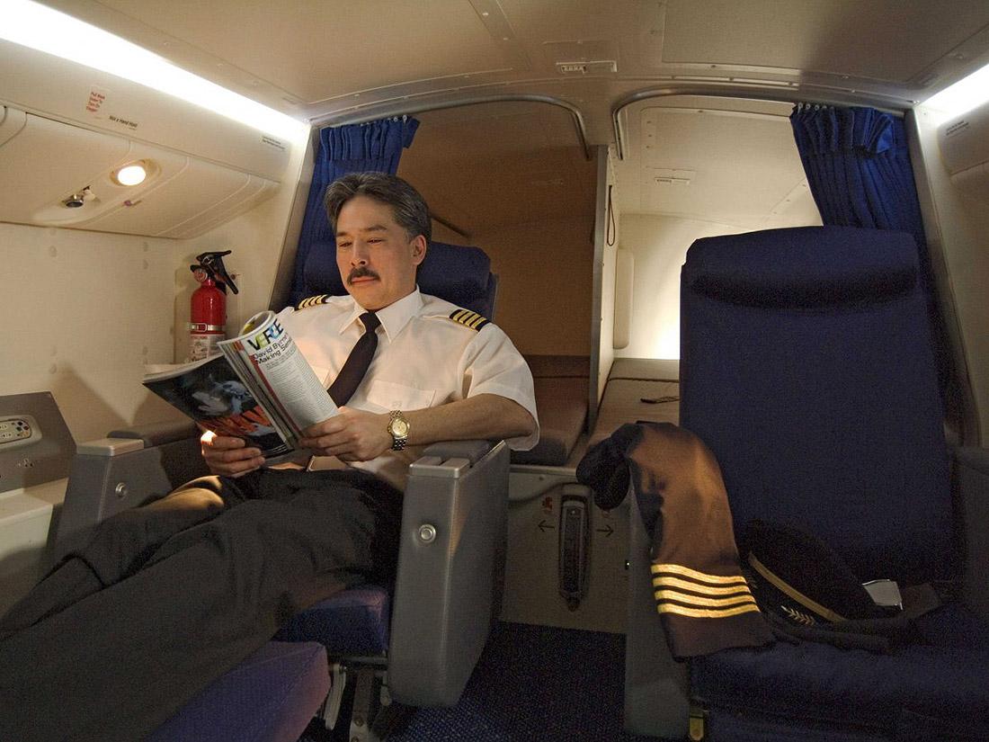 3. Здесь довольно уютно, если верить официальным фотографиям, предоставленным Boeing.