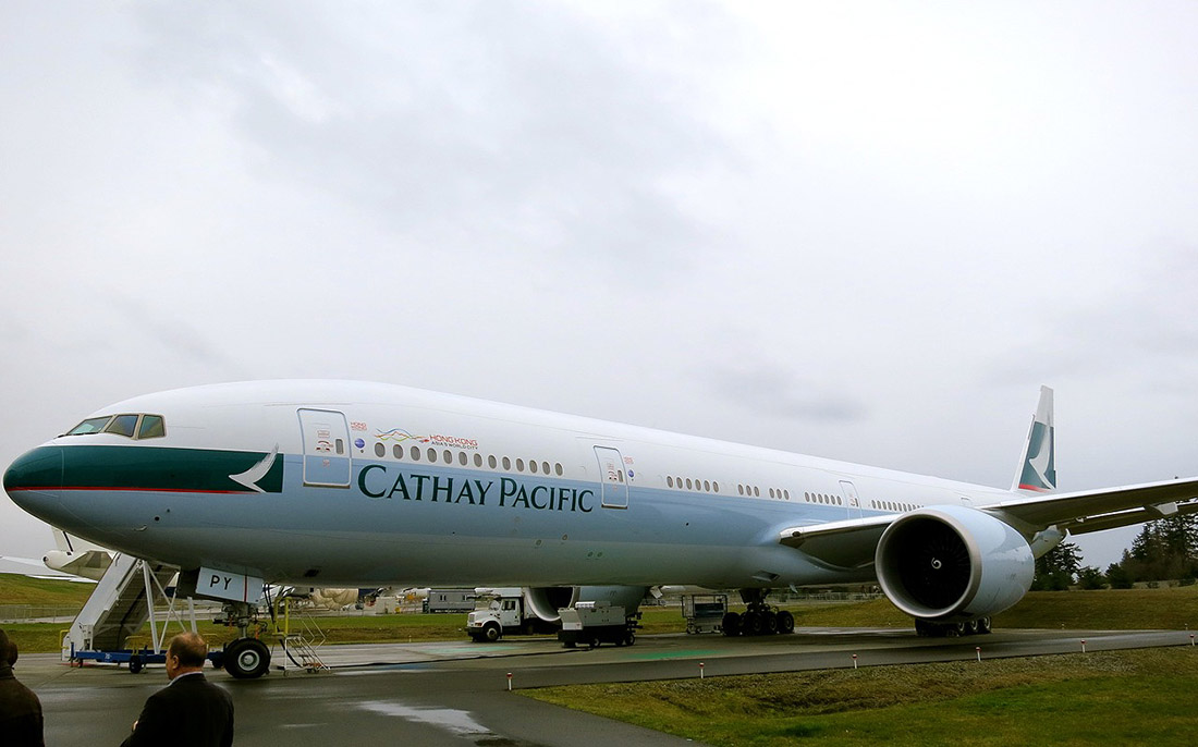 18. Все это находится в верхней части самолетов Boeing 777 и 787. , Заоблачная роскошь