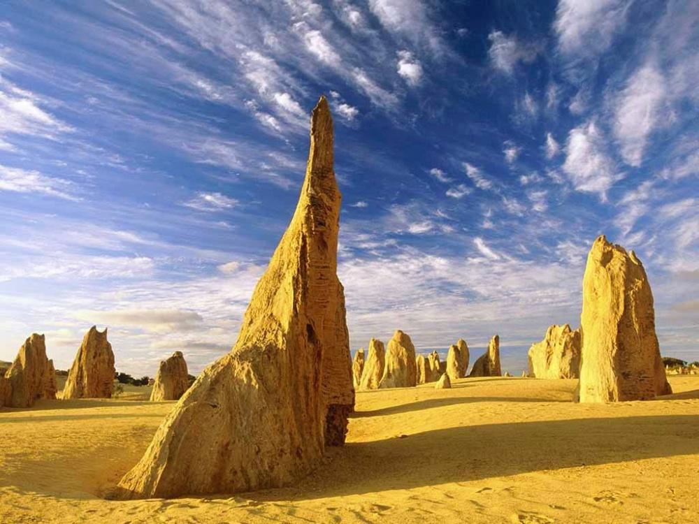 Пиннаклс (The Pinnacles) является изюминкой Национального парка «Намбанг» (Западная Австралия). Еен