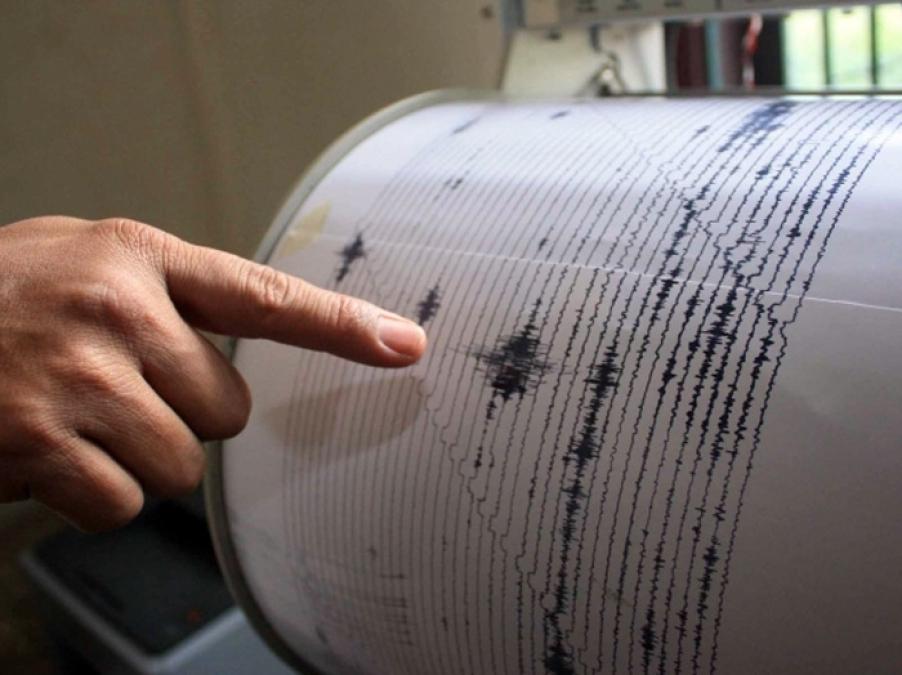 Уберегов Сочи произошло землетрясение магнитудой 4,5