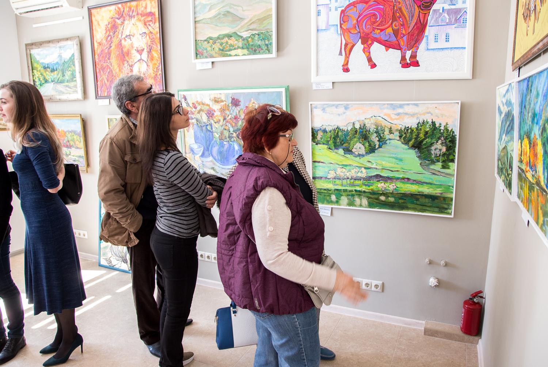 Анапа выставка картин Ирины Сивцевой