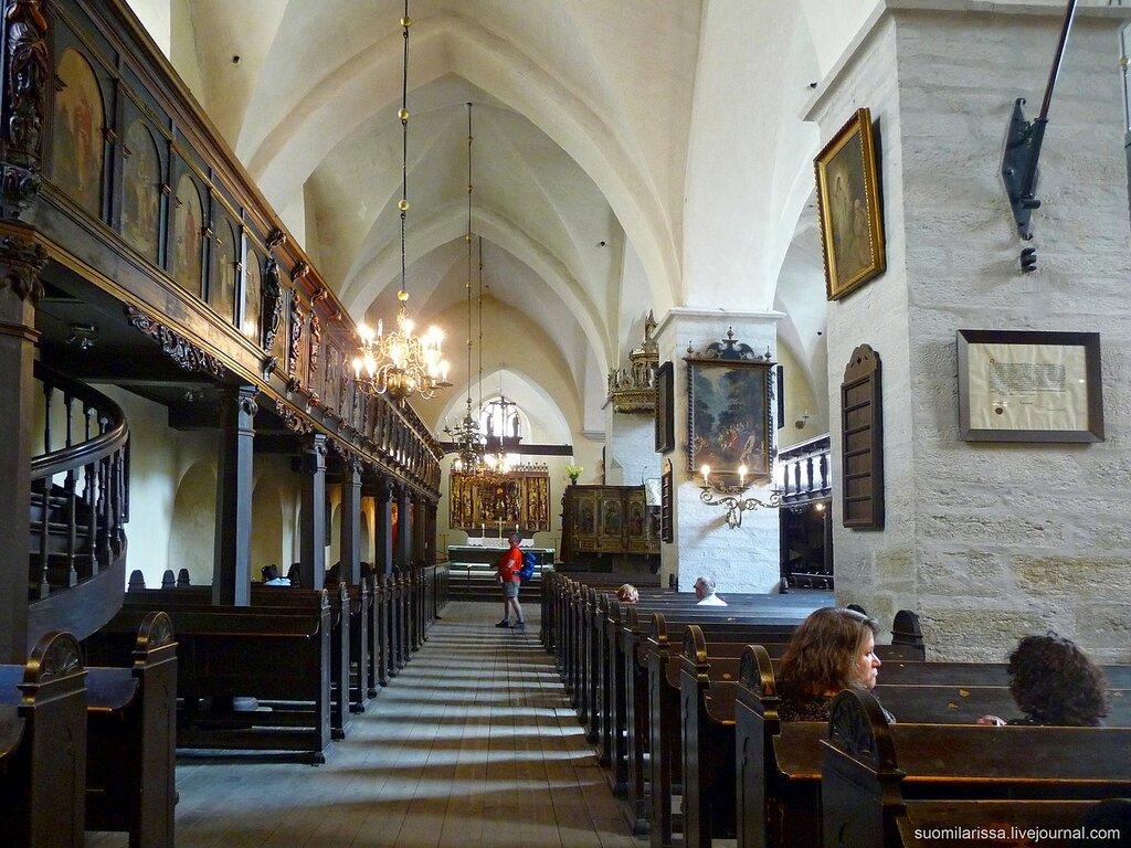 Церковь Св. Духа, XIV век.