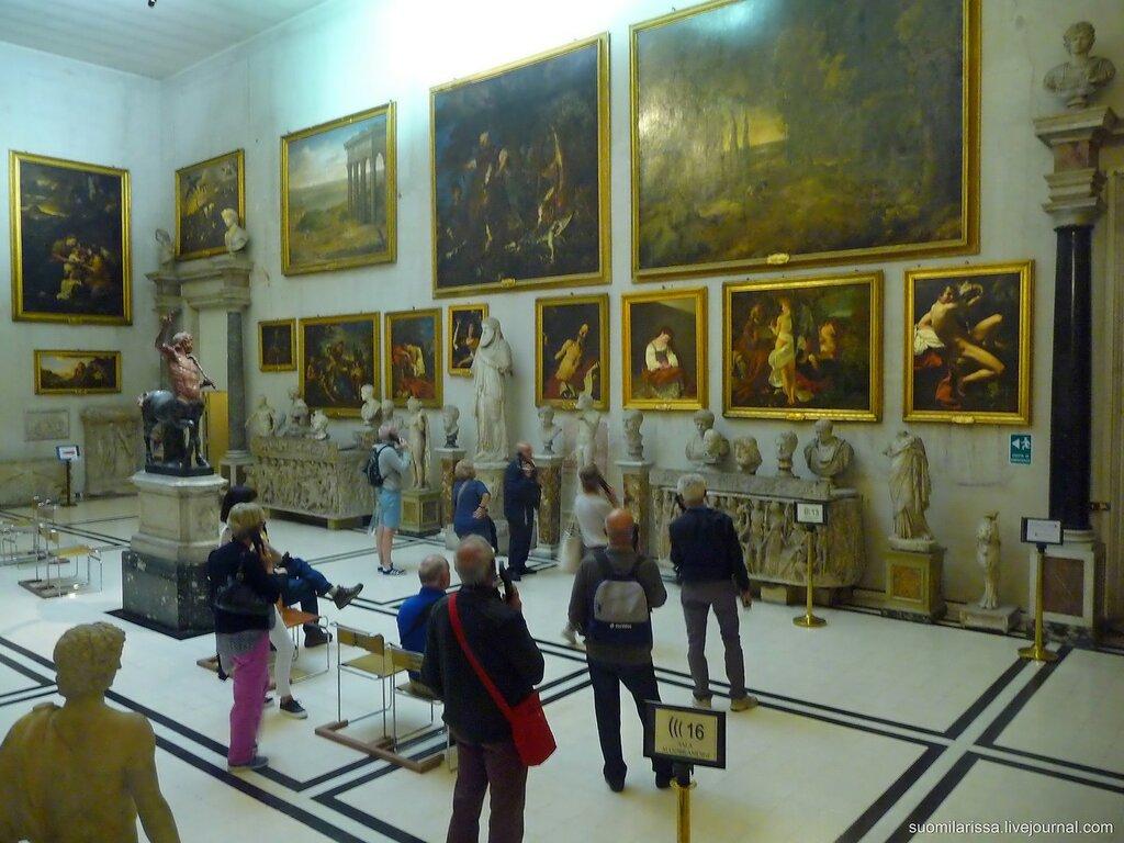 Зал древнегреческой и римской скульптуры.