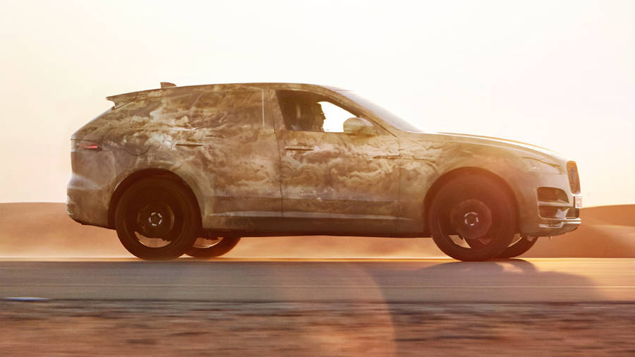 Jaguar F-Pace Camouflage