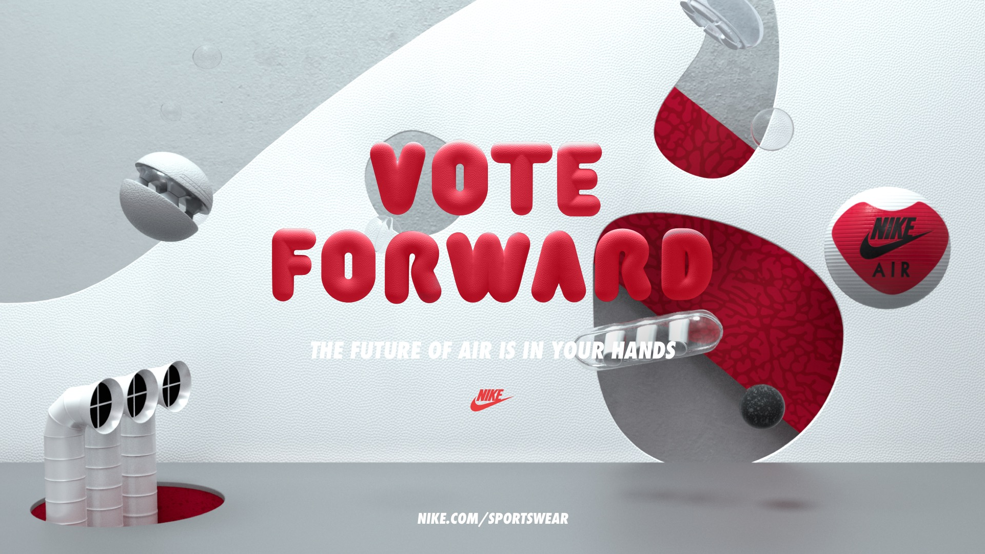 Nike Vote Forward (4 pics)