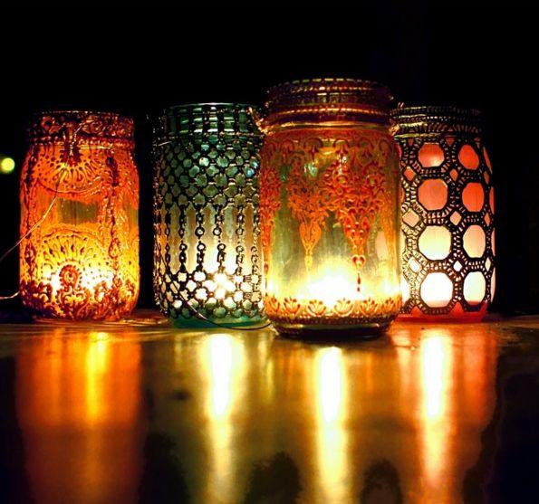 Подсвечники в марокканском стиле