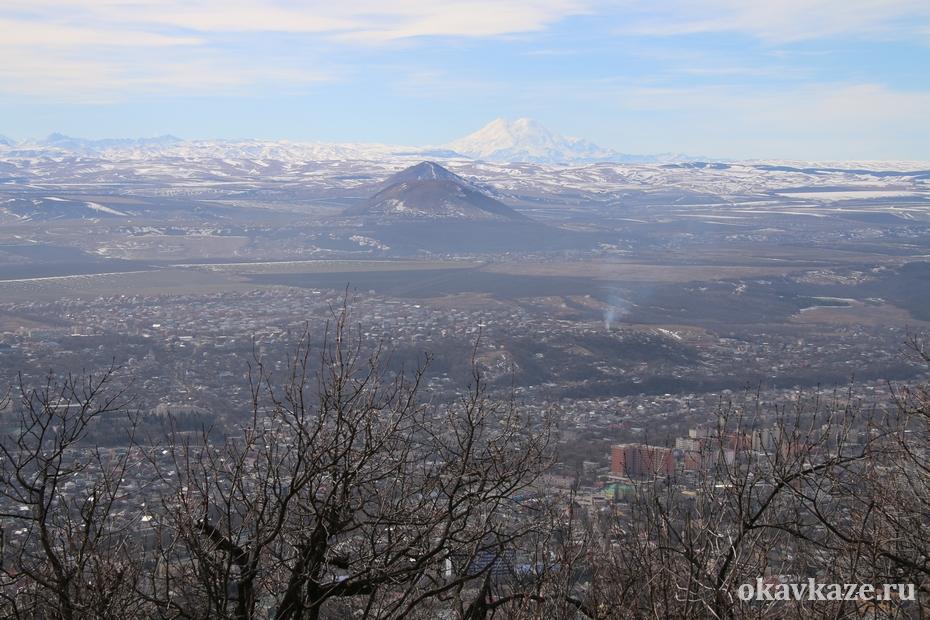 Эльбрус и горы Пятигорья