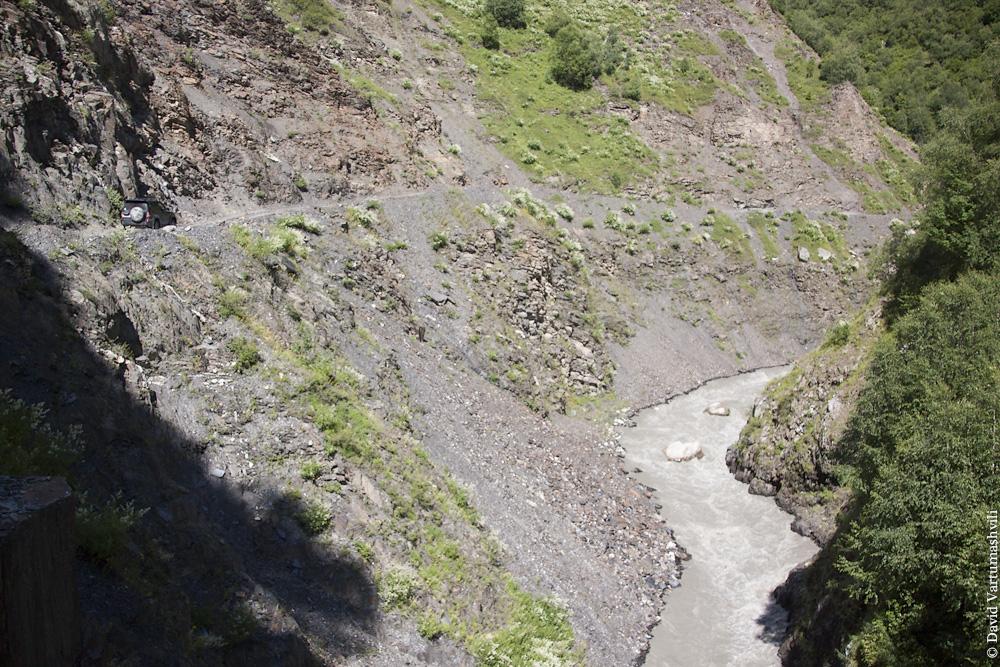 Грузия, Сванетия, по дороге в Ушгули