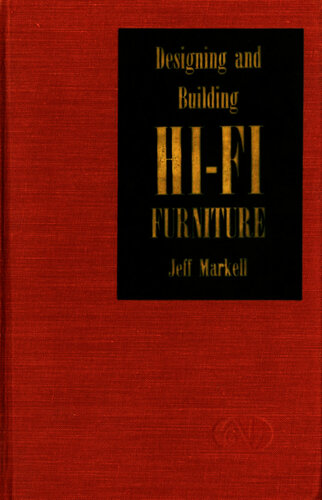 Designing and Building Hi-Fi Furniture - Jeff Markell - Book Cover