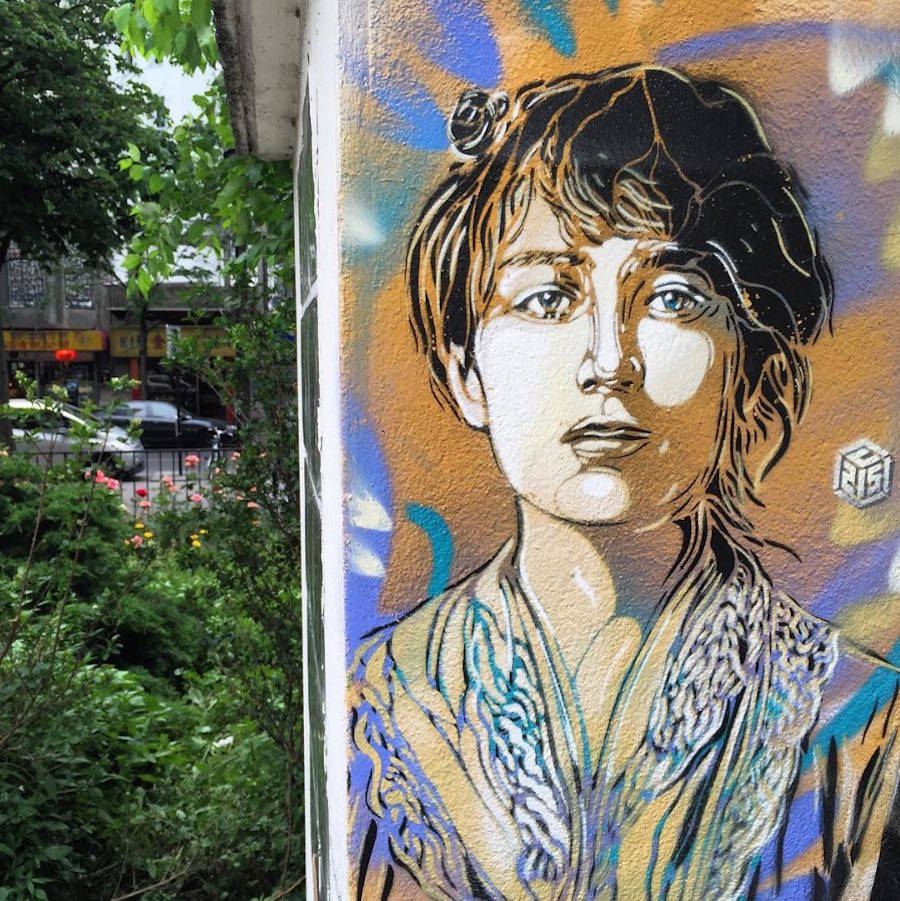 Tribute to Strong Women by C215