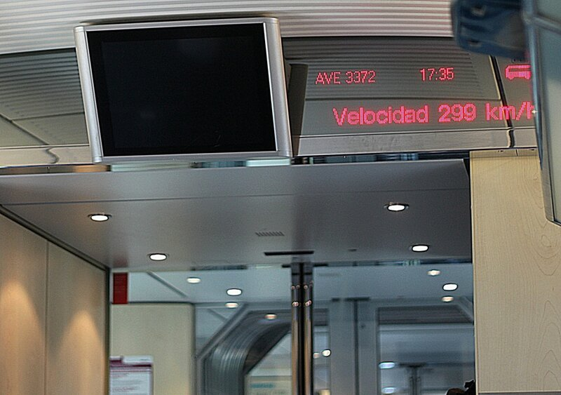 Испания, поезд AVE (Spain, train AVE)