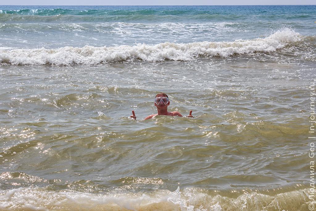 плавание в Средиземном море