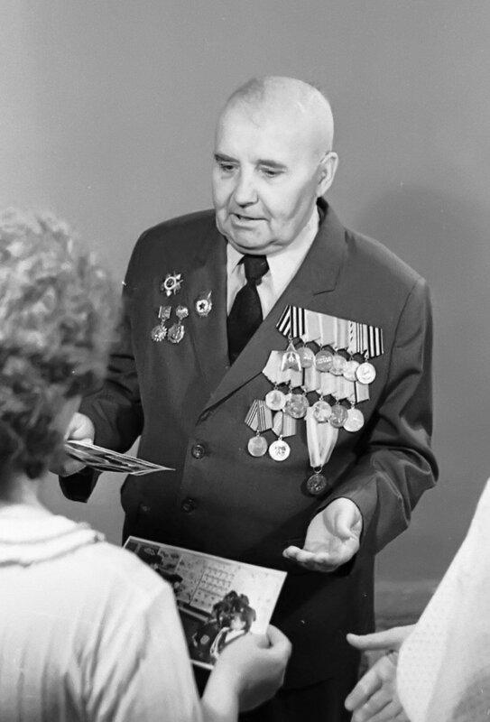 Портрет участника Великой Отечественной войны Гречко