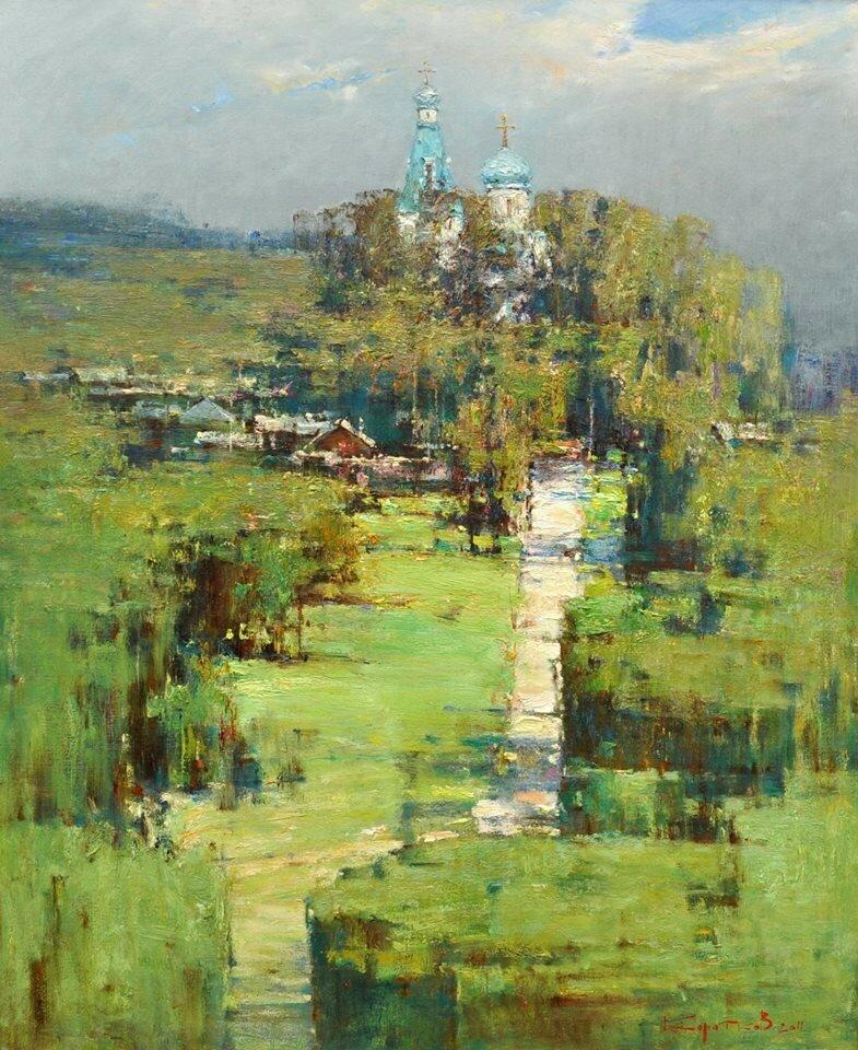 Валентин Коротков - Дорога к храму, 2011.jpg
