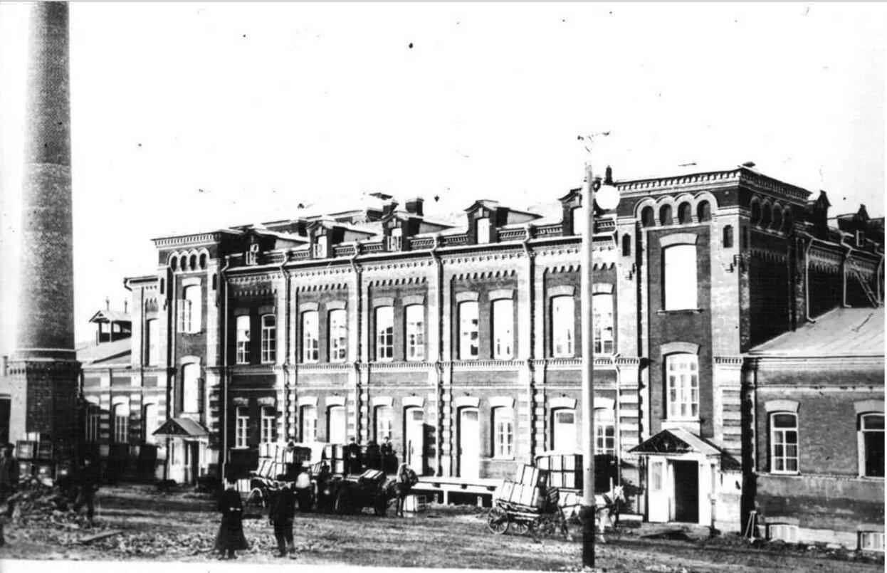 Главное здание винного склада