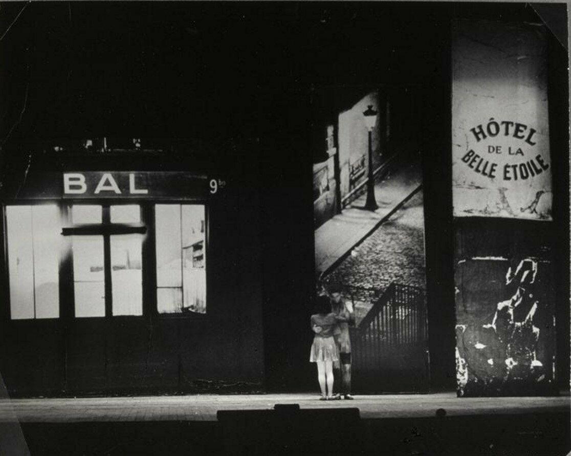 1945. Первая сцена из балета Рандеву