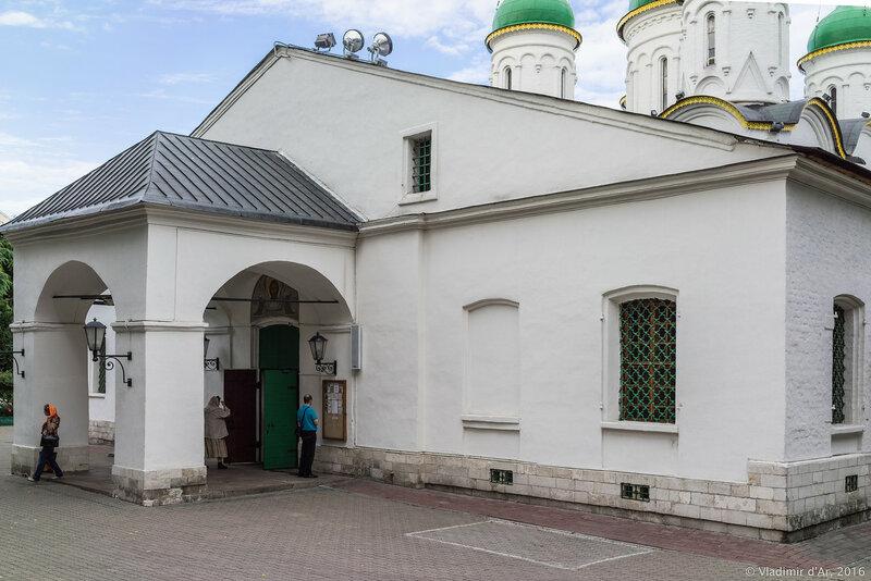 Церковь Троицы в Листах