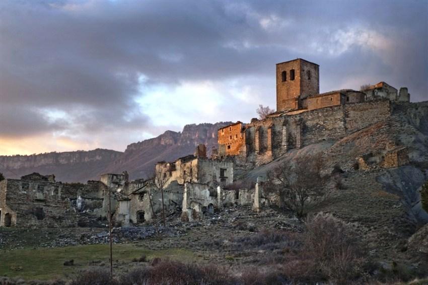 Заброшенная деревня Эско