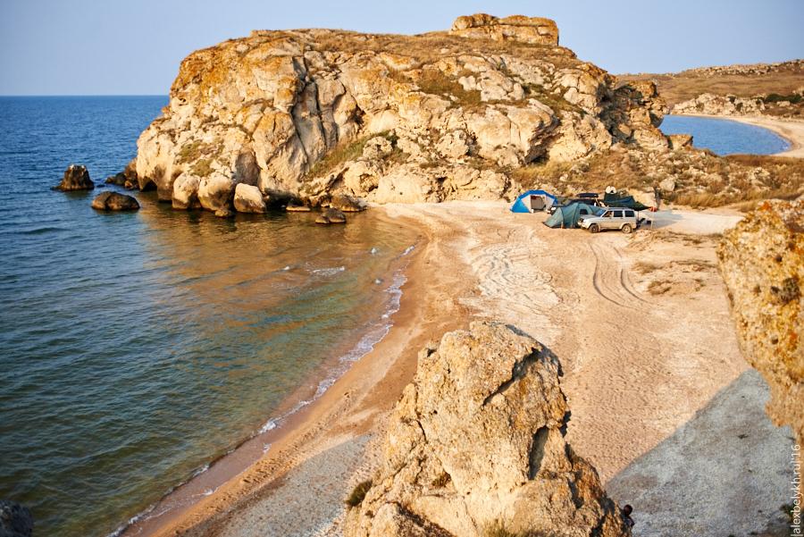 alexbelykh.ru, Генеральские пляжи, стоянка на генеральских пляжах