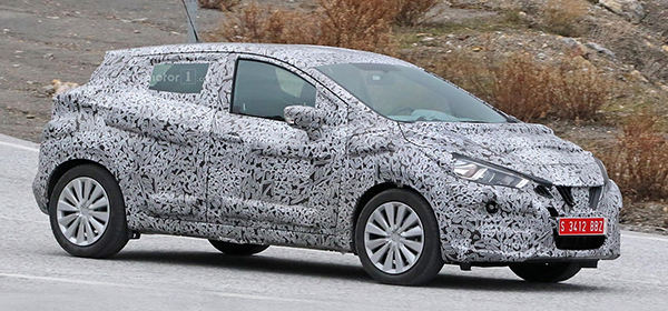 Nissan готовит к премьере апгрейд модели Micra