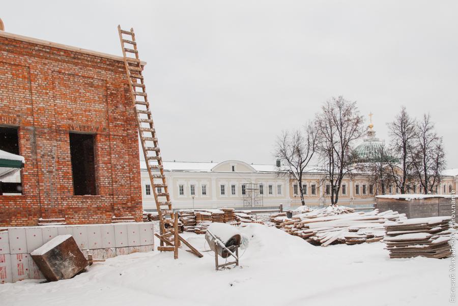 восстановление успенского собора в сарове
