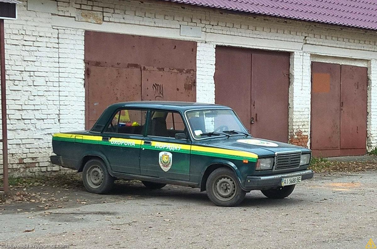 ВАЗ 2107 Охорона порядку ГО «Боярська варта»